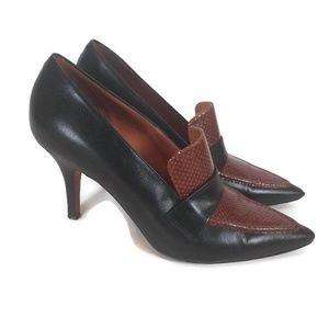 Celine Paris Loafer Heels Size 38
